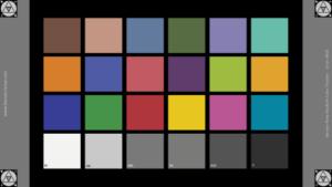 MacBeth Color Checker